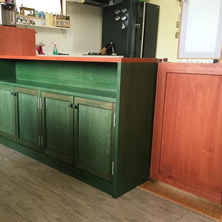 食器棚・ベンチ兼収納棚