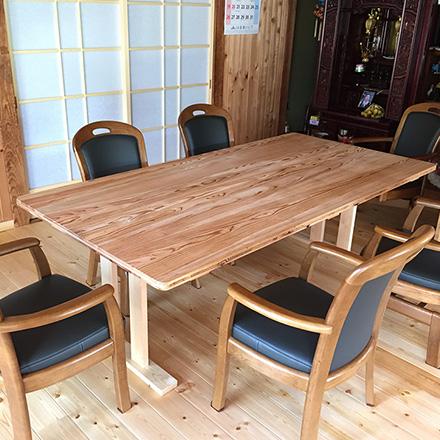 テーブル(北塩原村)