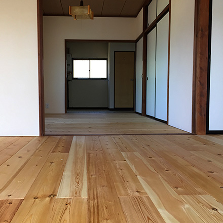 アパート改修工事(猪苗代町)