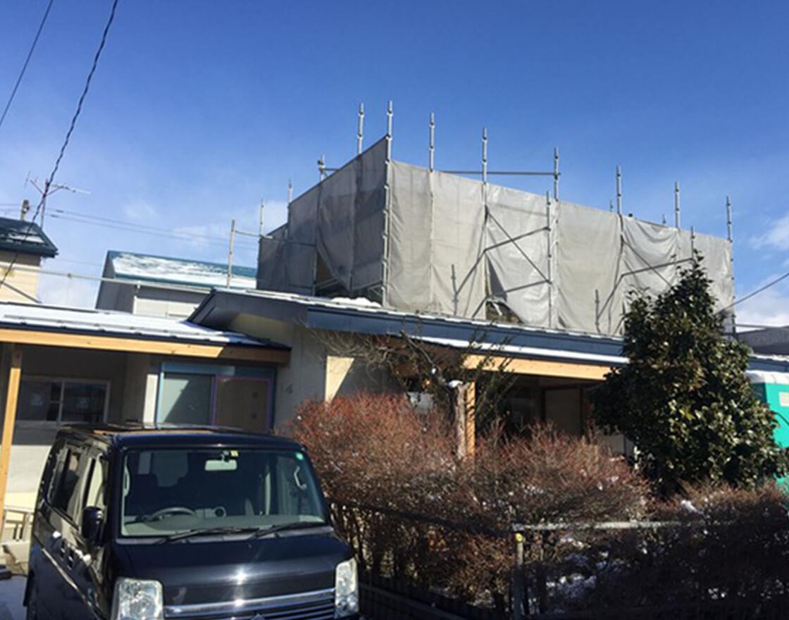 3 会津若松市 K様邸 リノベーション工事 途中経過