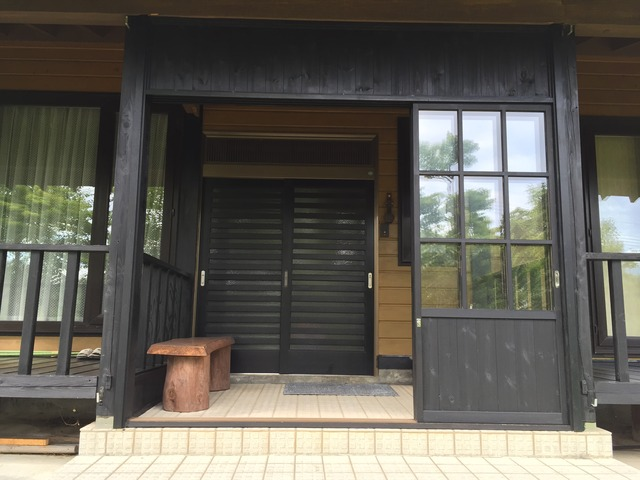 鎌田邸 雪囲い 全景