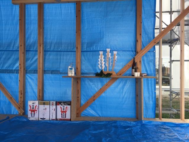 会津・猪苗代 新築工事 建て方 上棟式のサムネイル画像