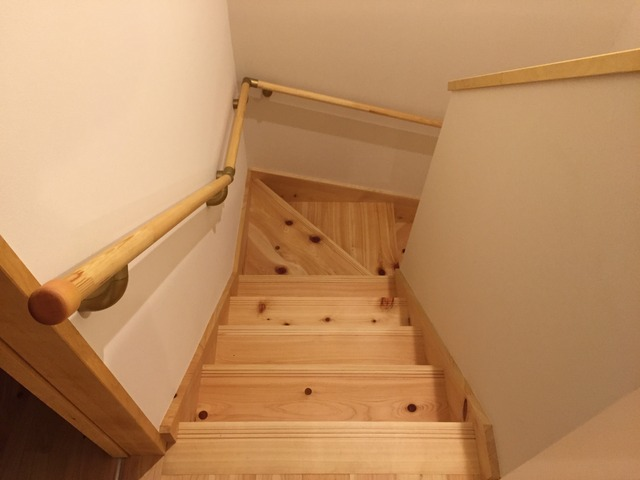 階段 吉野檜