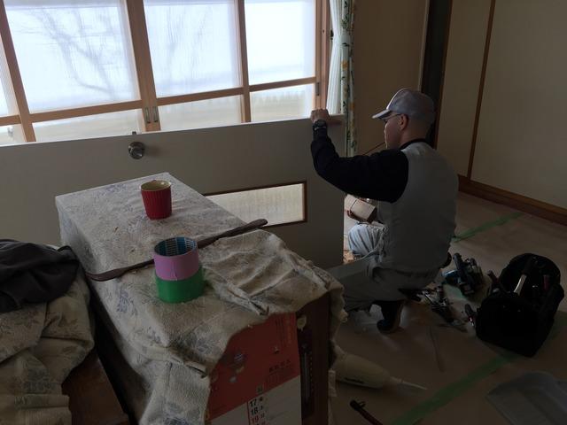 会津若松 猪苗代 郡山 リフォーム リノベーション 左官 漆喰 建具 二重窓