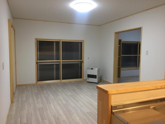 会津 猪苗代 リフォーム リノベーション 木製建具 二重窓