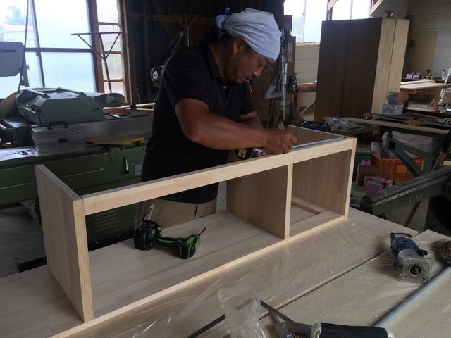 会津 猪苗代 職人 自然素材 家具製作 オーダーメイド